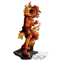 Banpresto One Piece Stampede Movie Brotherhood Figure Toy Portgas D. Ace BP39756