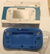 """BLUE SILICONE PROTECTIVE CASE SKIN """" FOR """" WII-U GAMEPAD CONTROLLER By CROWN"""