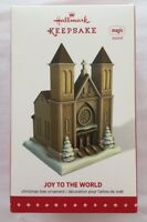 Hallmark 2015 Joy To The World Church Magic Music Christmas Keepsake Ornament
