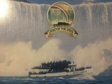 Niagra Falls Maid Of The Mist Boat Tour Souvenir Postcard