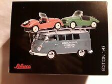 """VW T1 """" Kleinschnittger """" mit 2 Kleinschnittger F125 - 1:43 Schuco 450373600"""