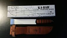 KA-BAR FIGHTING  KNIFE - COLTELLO DA COMBATTIMENTO CORPO MARINE USA - NUOVO!