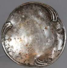 ANTIQUE GERMAN WMF SILVERPLATED FOOTED PLATTER