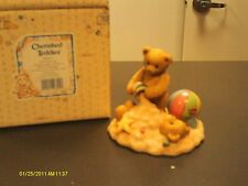 Cherished Teddies `Jim & Joey Underneath it all we're forever friends 1996