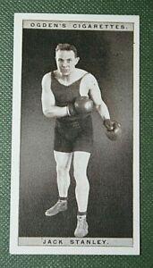 Heavy-weight Boxer  Jack Stanley   Original 1928 Photo Card