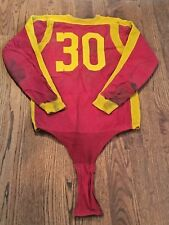 Antique 1930s Denver University Pioneers Game Used Football Jersey Crotch Piece