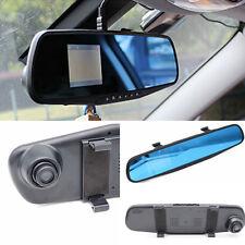 "2.4"" HD Car Rearview mirror Camera Dash Cam IR DVR CCTV Night Vision Recorder"