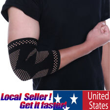 Elbow Support Sleeve Sports Arm Compression Arthritis Relief Pain Fit Wrap Brace
