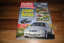 AUTO KATALOG 2001 -- 2000 Modelle aus aller Welt / Betriebskosten - Preise-Daten