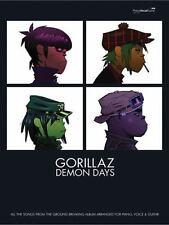 Gorillaz -- Demon Days: Piano/Vocal/Chords (Faber Edition)