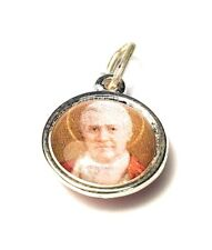 Saint POPE PIUS X relic medal of patron of Iowa, first communicants; pilgrims