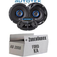 Lautsprecher für Ford KA 2 RU8 Front Heck Tür Boxen Autotek 2-Wege PKW Einbauset