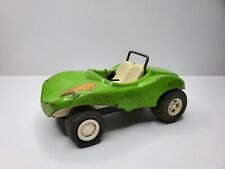"Vintage Tonka Green Fun Buggy 6"" Retro Flower Power Hippie Dune Pressed Steel"