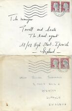 France 1963 3x Covers With Two 0.25 Stamps To England My Ref 476