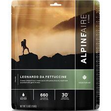 AlpineAire Leonardo da Fettucci 2-Serving Entree Freeze Dried Camping Food 60111