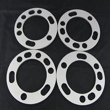 "(4) 1/4"" Chevy GMC Wheel Spacers | Flat 6x5.5 6x139.7 Trucks SUV 6 lug Spacer"