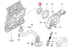 Genuine BMW Rotor Inner MINI Cooper One R50 R52 R53 Coop.S JCW GP 11411487212