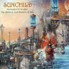 SUNCHILD - MESSAGES FROM AFAR  DIVISION AND ILLUSION OF TIME 2018 SEALED DIGI CD