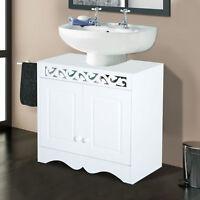 Under Sink Cabinet Storage Unit Cupboard Bathroom Double Door Shelf