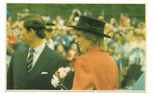 POSTCARD 'ROYALTY' Prince Charles & Diana in Canada 1983 /G-008