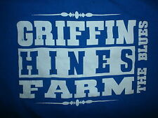 Griffin HINES FARM T SHIRT Blues Music Since 1949 Toledo Ohio MED