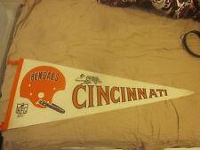 1967 NFL Football Pennant Cincinnati Bengals