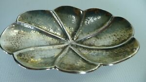 Vintage Handmade in Israel Beautiful Silver 800 Tray / Bowl