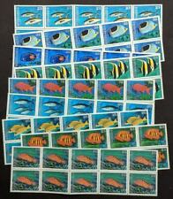 EDW1949SELL : MICRONESIA 1996 Scott #213-26 Fish. 10 Cplt sets. VF MNH. Cat
