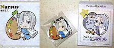Heroic Legend of Arslan PitaColle Rubber Strap NARSUS MF Kodansha Licensed New