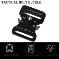 """Mens Adjustable  Belt 38mm 2"""" Tactical Army Hunting Outdoor Utility Waistband AU"""