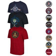 MLS Adidas Men's Team Graphic Tri-Blend T-Shirt Collection