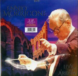 ENNIO MORRICONE - LIVE AT THE ARENA - 2LP LIMITED DELUXE EDITION NUOVO SIGILLATO