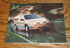 Original 2000 Oldsmobile Silhouette Deluxe Sales Brochure 00