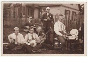 Latvia RP PC RIGA Small jazz orchestra from Zolitude photo by Grivits c 1925