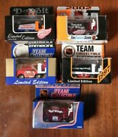 Lot of 5 Detroit Red Wings Diecast Mini Zambonis NHL Hockey Zamboni Vintage 90s