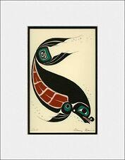 New art print HARBOUR SEAL by Gitskan British Columbia artist DANNY DENNIS
