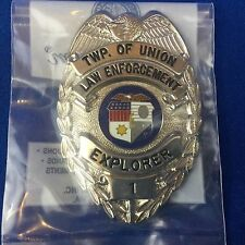 Boy Scout Explorer Badge Twp Of Union (New Jersey) # 1 New In Bag From 1980's