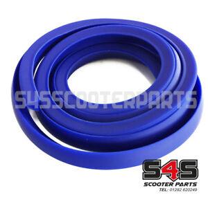 Side Panel Rubber - Blue - For Vespa / LML