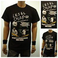 Mexico Graphic T-Shirts Printed ES EL CHAPO? Fashion Casual T-Shirt Urban Tee