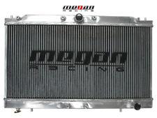 "MEGAN 2 Row Aluminum Radiator Eclipse Talon 95-99 4G63 Turbo Manual w/ 12"" Fan"