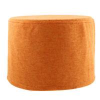 Housses de Tabouret Couverture de Poufs Forme Rond Tissu de Coton