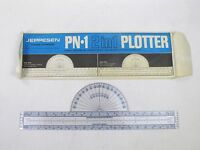 Vintage Nautical Navigation Protractor Jeppesen PN-1 2 in 1 Course Plotter USA