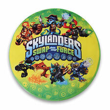 Skylanders Swap Force Round Green Kids Cushion Clearance Stock 35 X 35cm