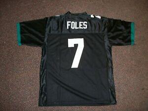 NICK FOLES Unsigned Custom Black Sewn New Football Jersey Size S,M,L,XL,2XL,3XL