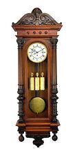 Highly Carved German Gustav Becker Grand Sonnerie 3 wt Vienna Regulator Clock