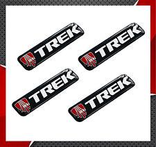 4 x Aufkleber 3D Gel Trek Stickers Auto Motorrad Rennrad Fahrrad Radsport Tuning