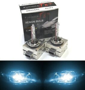 HID Xenon D3S Two Bulbs Head Light 8000K Icy Blue Bi-Xenon Replacement Low Beam