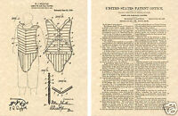 Vintage CATCHER GEAR US PATENT Art Print READY TO FRAME!! MLB 1909 Baseball Pads