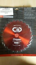 CID WOOD CUTING TCT BLADE 230MM 24T X 30MM BORE