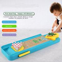 MINI DESKTOP BOWLING ALLEY GAME Children tabletop parent-child interactive games